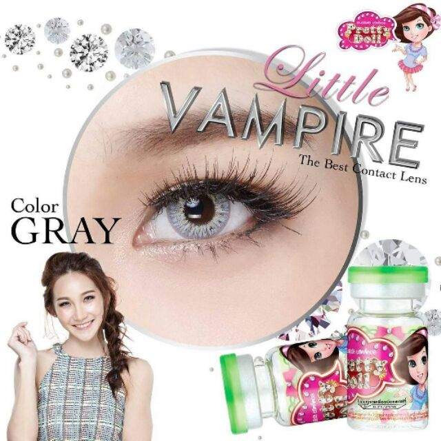 🎉คอนแทคเลยส์✨Little vampire Twilight  pretty doll