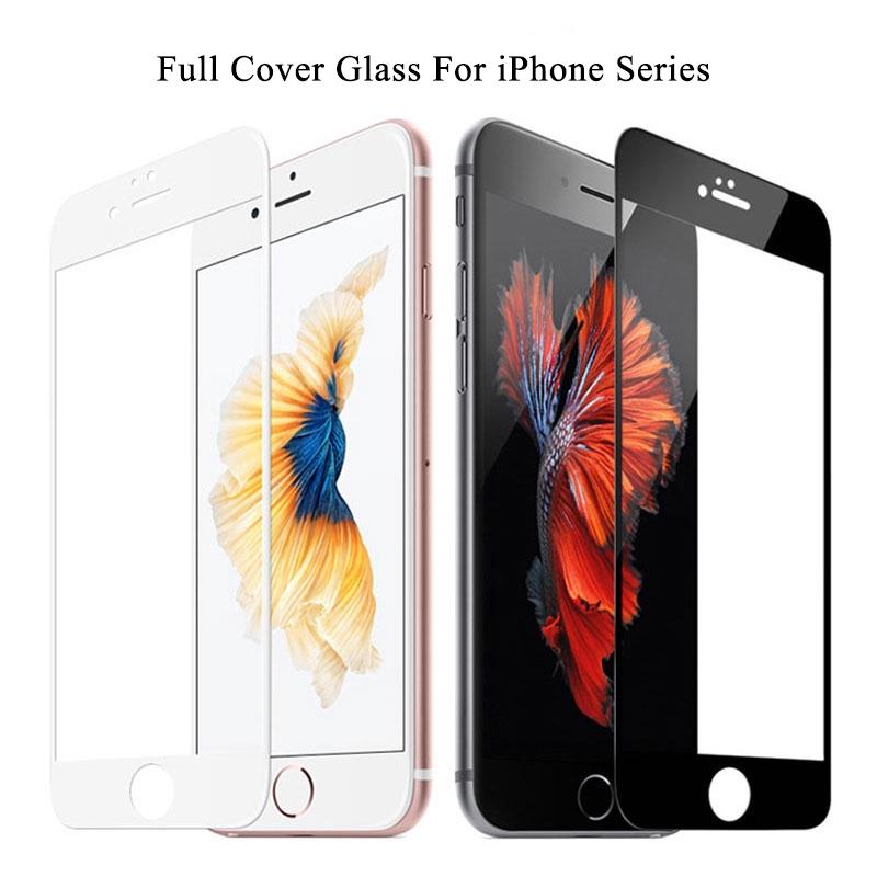 เคสโทรศัพท์มือถือกระจกนิรภัยสองสีสําหรับ Iphone 6 6s 7 8 Plus Xs Max Xr 11 Pro Max Se 2