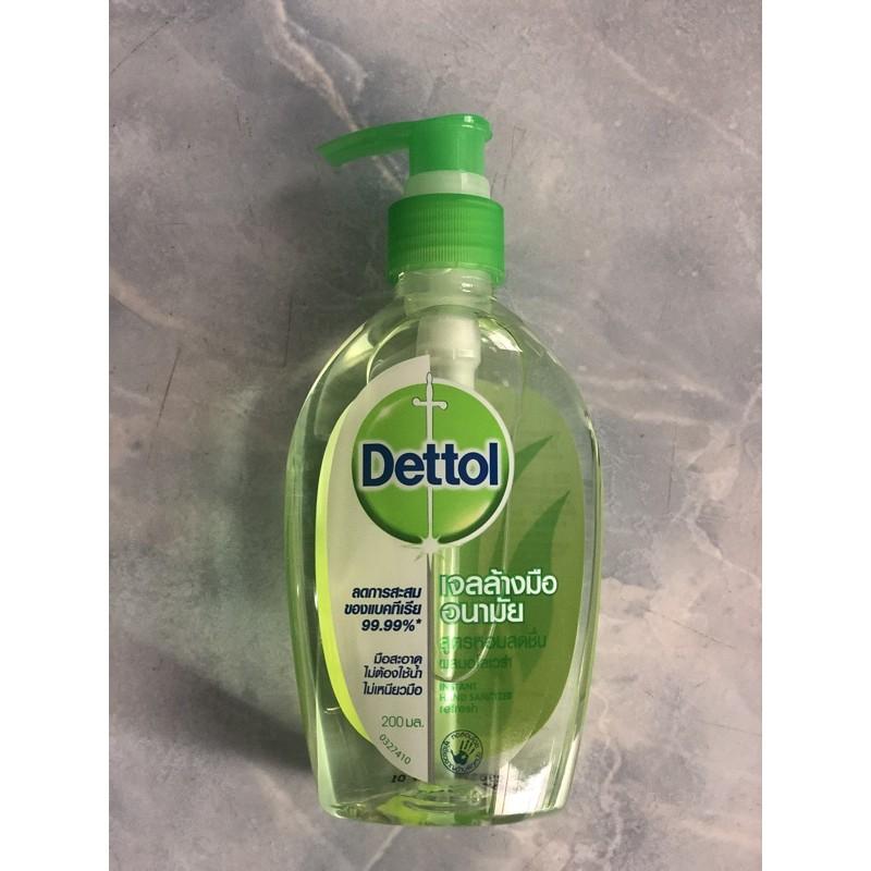 ‼️พร้อมส่ง‼️ Dettol Hand Alcohol Gel 200ml🧤🧤เดทตอล เจลล้างมืออนามัย