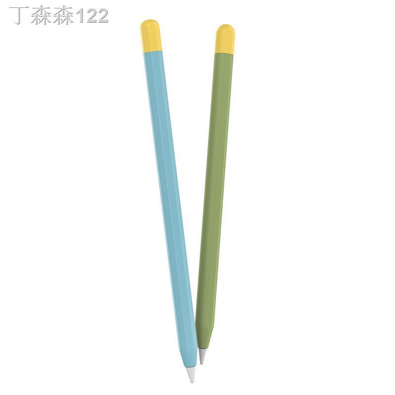 ✜☌❈Apple applepencil โทรศัพท์มือถือปากกา capacitive ฝาครอบป้องกัน ipad anti-mistouch ซิลิโคน 1 ฝาครอบปากกา 2 รุ่น ipenci