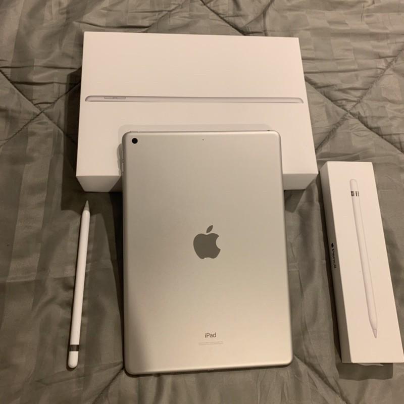 iPad Gen7+Apple pencil ไอแพด มือสอง อุปกรณ์แท้ครบกล่อง