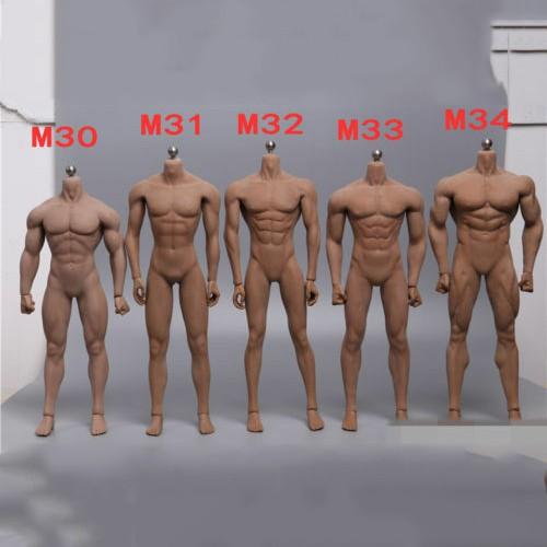 PHICEN TBLeague 1//6 Steel Skeleton Male Muscular Seamless Figure Body U.S.A.