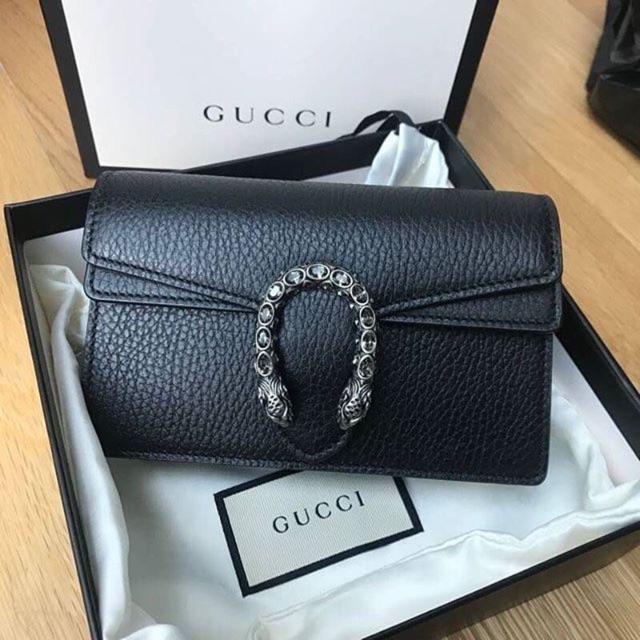 New Gucci Dionysus Supermini in Black พร้อมส่ง 100%