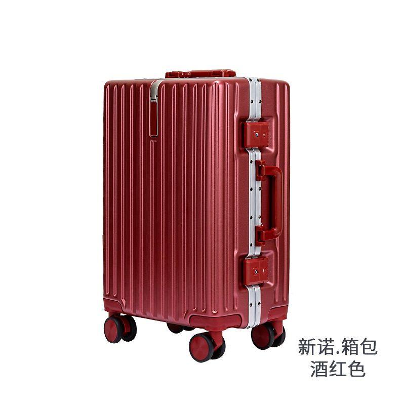 ☏๑Xinnuo ins กระเป๋าเดินทางใบเล็ก กระเป๋าเดินทางนักเรียน 24 นิ้ว 20 กระเป๋าล้อลากสากล ขนาดเล็ก สดและเงียบเป็นพิเศษ