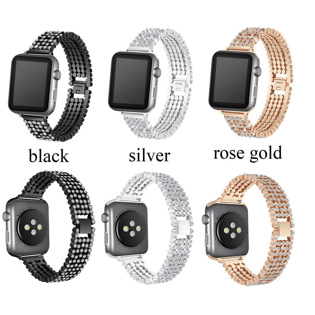 Strap Apple Watch Replacement   Series5,Series4 42มม.44มม สายนาฬิกา เหล็กกล้าไร้สนิม apple  Apple Size 38มม.40มม watch Watch Apple Series รูปสี่เหลี่ยมขนมเปียกปูน 5 สายนาฬิกาข้อมือ Apple , SE 2, Series3, Stainless Series6, Watch watch steel