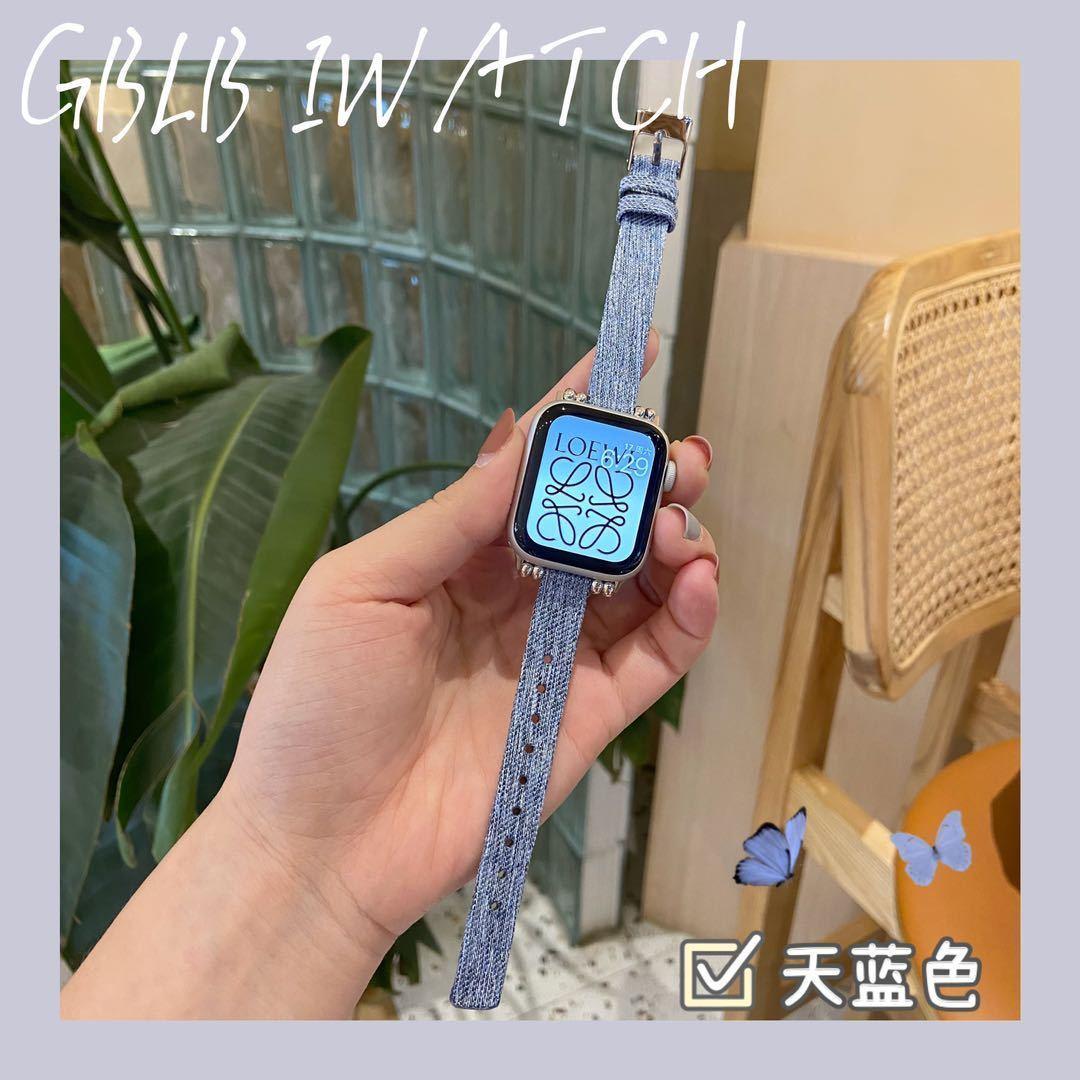 สายนาฬิกาข้อมือแฟชั่นสําหรับ Applewatch 5