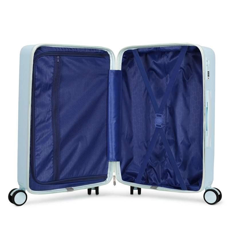 ✉‐ กระเป๋าเดินทางล้อลากใบเล็ก กระเป๋าเดินทางล้อลากรถเข็นเด็กกระเป๋าล้อสากลกระเป๋าเดินทางสาวน่ารักกระเป๋า18นิ้ว