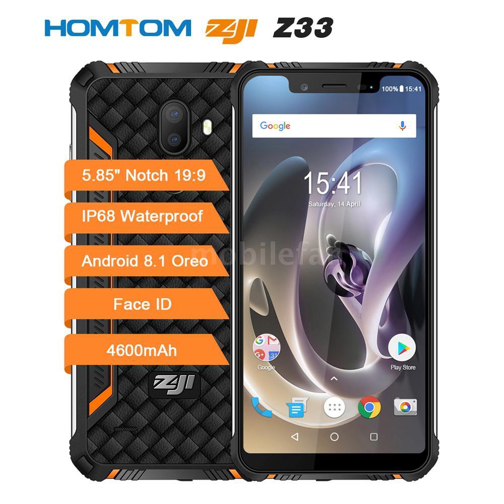 HOMTOM ZOJI Z 33 3 GB / 32 GB IP 68 5 85 นิ้วกันน้ำสำหรับโทรศัพท์มือถือ