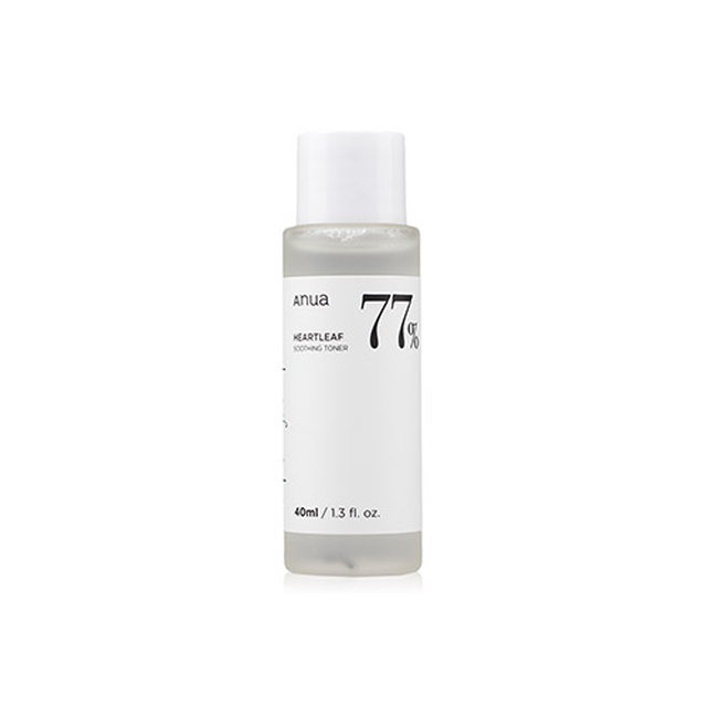 ANUA heartleaf 77% shooting toner 40ml