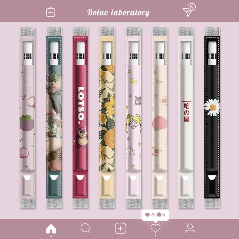 Applepencil Anti-Lost เคสใส่ปากกา Apple Pencil รุ่นที่สอง iPad8 กระเป๋าเก็บปากกา 2019air Original 10.5 นิ้วแท็บเล็ต 10.2