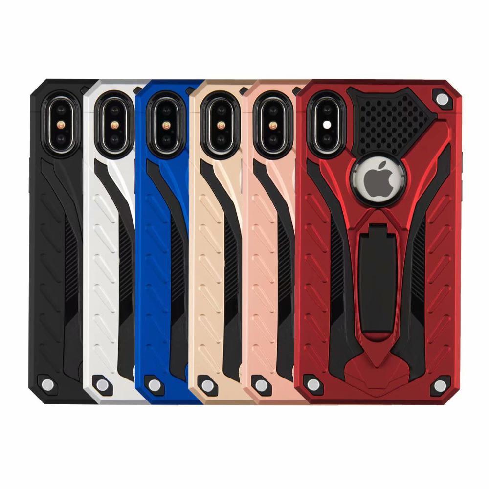 เคสหุ่นยนต์ Samsung J4plus J6plus/J2prime case samsung J7/J710/J7prime Note10/Note10pro J6 A750 A9pro ขาตั้งได้