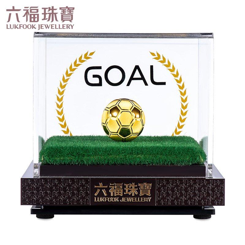 เครื่องประดับหกพรเครื่องประดับทองชุดฟุตบอลGOALการกำหนดราคาของขวัญที่ระลึกเครื่องประดับเท้าทองD3168