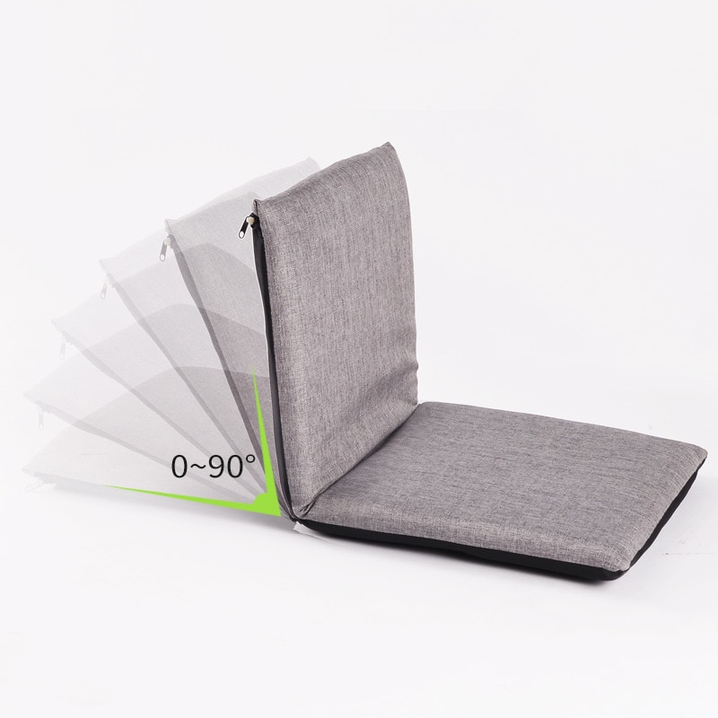CODLazy Sofa Tatami Folding Cushion Sofa Foldable Single Small Sofa Bed Chair