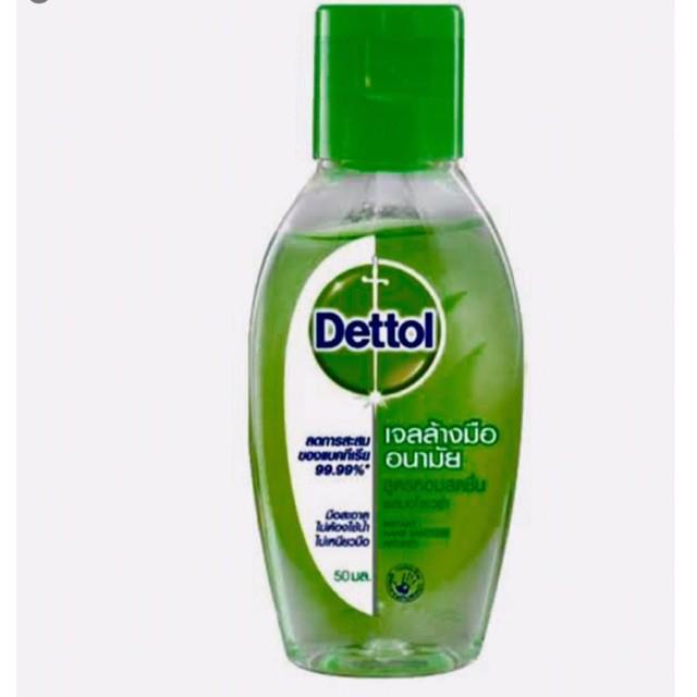 Dettol เจลล้างมืออนามัย เดทตอล