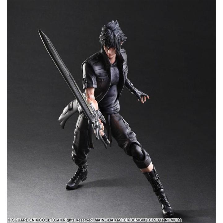Review Final fantasy Play Arts Noctis Movable model Exquisite original boxed诺克提斯