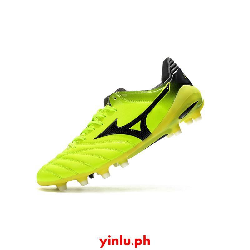 [พร้อมกล่อง] แท้จริง รองเท้าฟุตบอล 39-45 Mizuno Morelia Neo II แดงดำน้ำเงินญี่ปุ่น สีเขียว