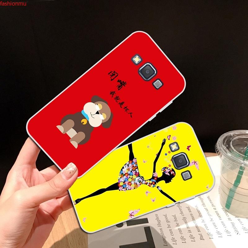 Samsung A3 A5 A6 A7 A8 A9 Star Pro Plus E5 E7 2016 2017 2018 Diao dog Soft Silicon TPU Case Cover