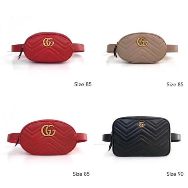 Gucci marmont belt bag ️ส่งฟรีEMSทุกรายการ