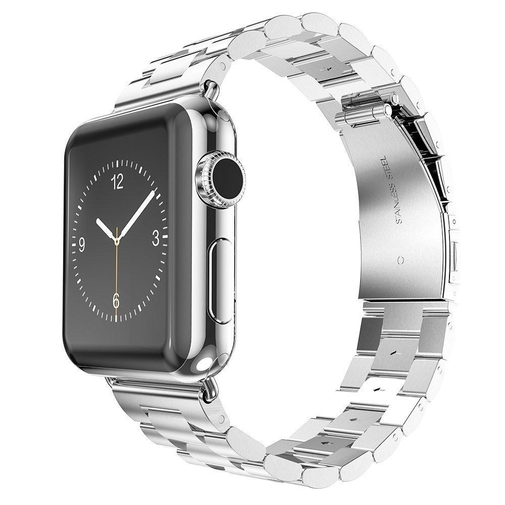 สายนาฬิกาข้อมือสแตนเลสโลหะ 42 มม. 38 มม. สําหรับ Apple Watch Band 40 มม. 44 มม. สําหรับ Iwatch Series Se 6 5 4 3 2 1