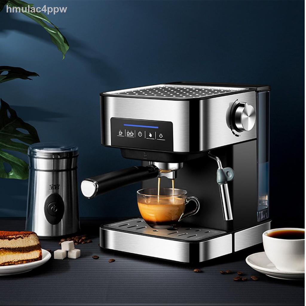 ♚✺เครื่องชงกาแฟ เครื่องชงกาแฟเอสเพรสโซ การทำโฟมนมแฟนซี การปรับความเข้มของกาแฟด้วยตนเอง เครื่องทำกาแฟขนาดเล็ก เครื่องทำก