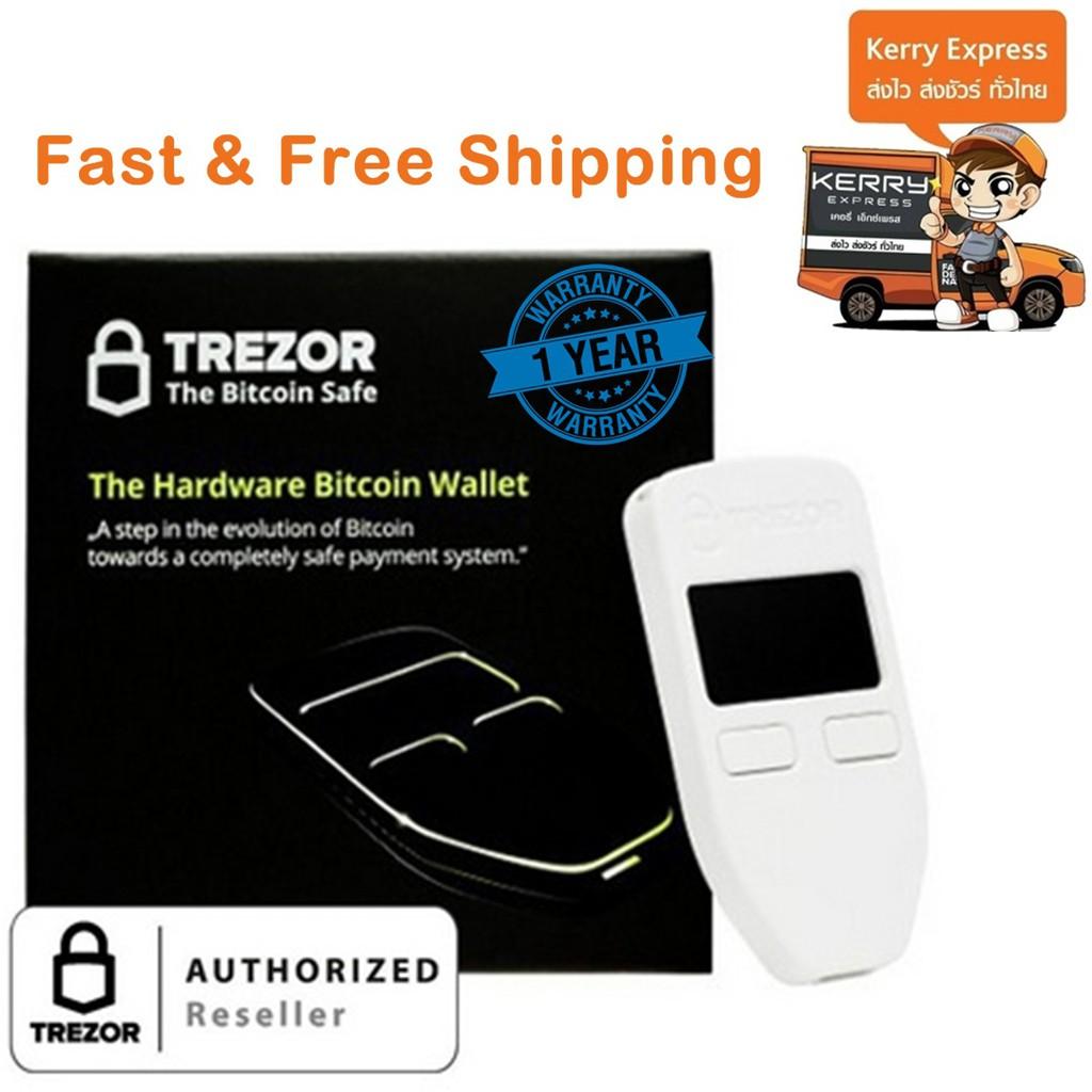 Trezor One Hardware Wallet White Authorized Reseller