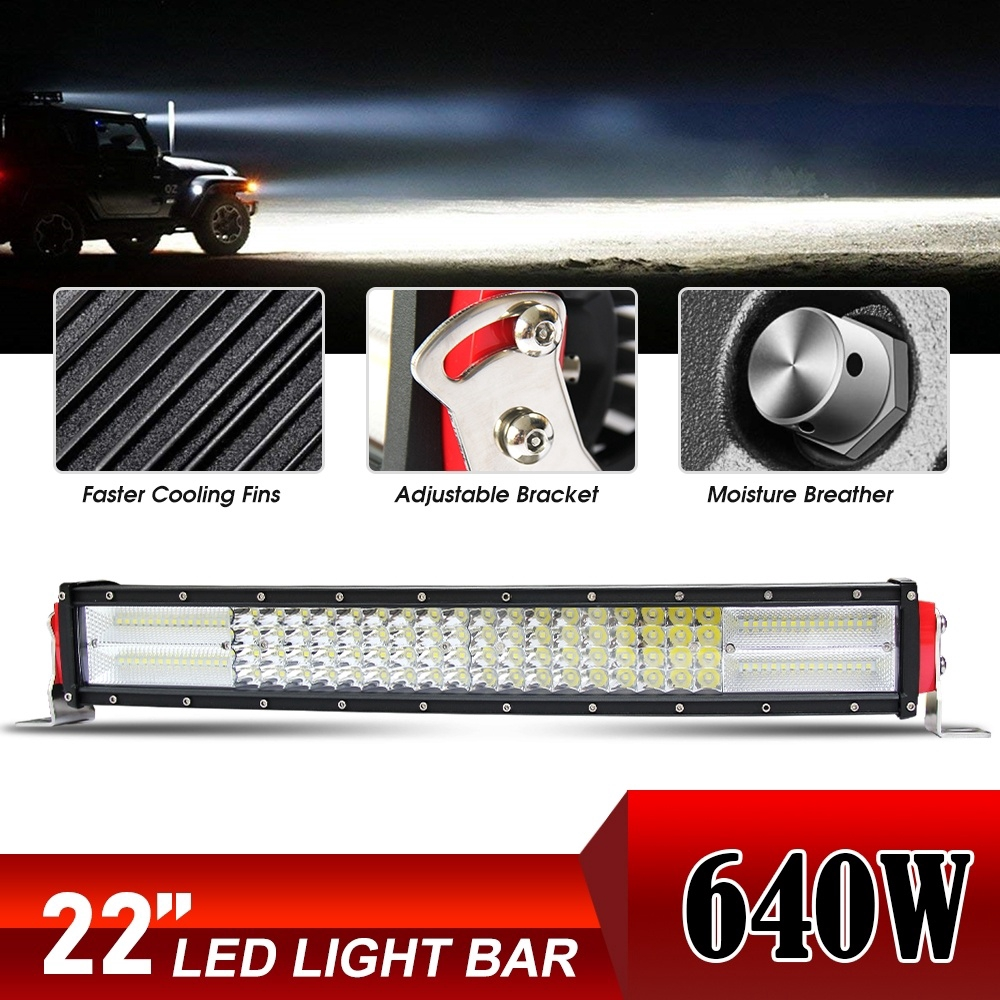 """31/"""" CURVED CREE LED BAR SLIM SINGLE ROW ROAD for JEEP FORD UTE ATV 4WD Truck SUV"""