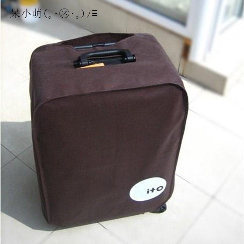 ผ้าคลุมกระเป๋าเดินทางแบบยืดหยุ่น 20 24 26 28 นิ้ว