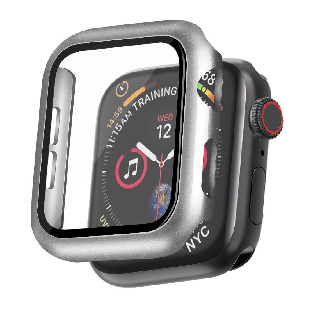 เคสป้องกันรอยหน้าจอสําหรับ Apple Watch Case 44mm 40mm 42mm 38mm Iwatch Series 3 4 5
