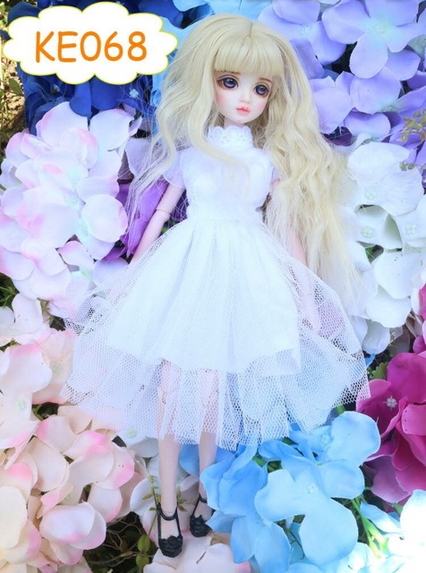 White Dolls Display Stand Support for 12 inch Takara Neo Blythe Licca Kurhn