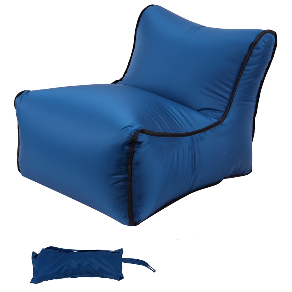 Inflatable Love Seat Sofa Bed Intex Chair Camping Furniture Portable Lazy NEW