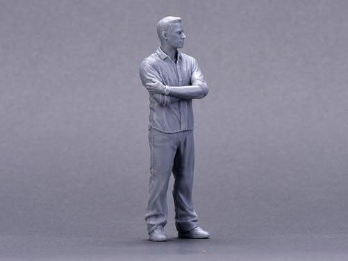 Resin Figure Kit 1/18 Mr. Walker Garage Resin Figure Model Kit