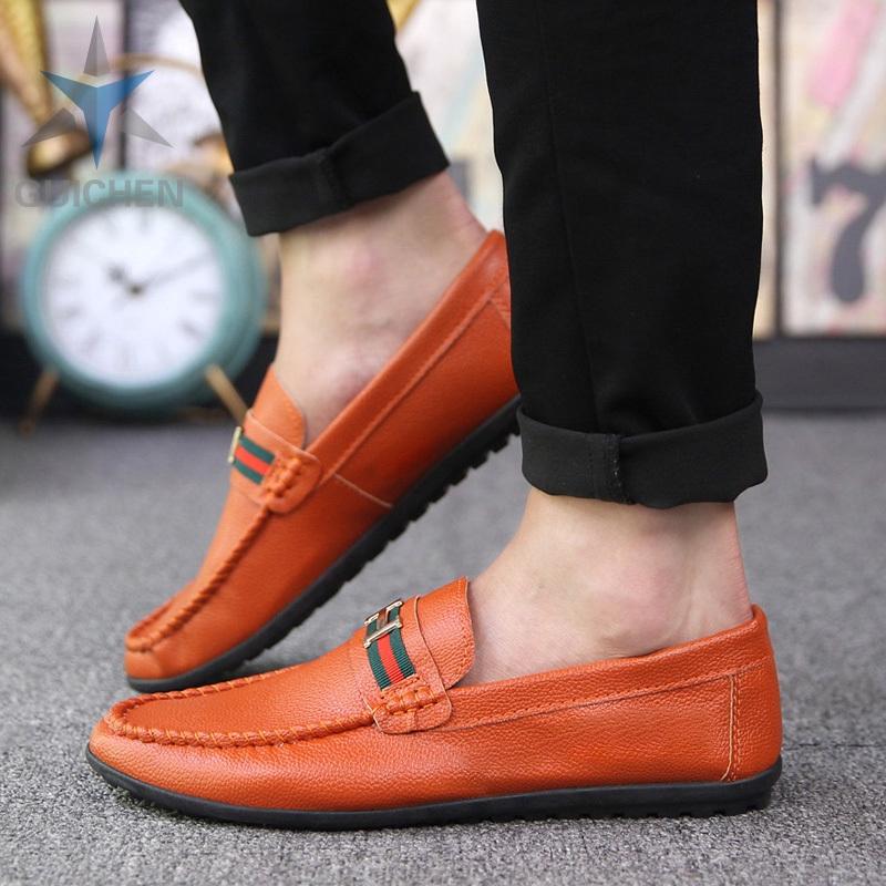 ⚡GC รองเท้าคัชชู รองเท้าโลฟเฟอร์หนัง สีดำ สำหรับผู้ชาย รองเท้าหนังแฟชั่น loafer 03