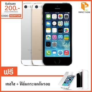 Apple iPhone 5S 16GB  แถมฟรี! เคสใส+ฟิล์มกระจก (ประกันร้าน 6 เดือน)