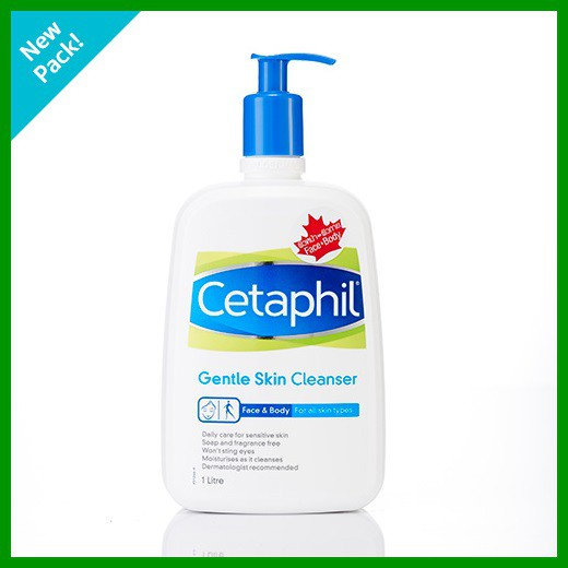 Cetaphil Cleanser 1 ลิตร exp06/2020
