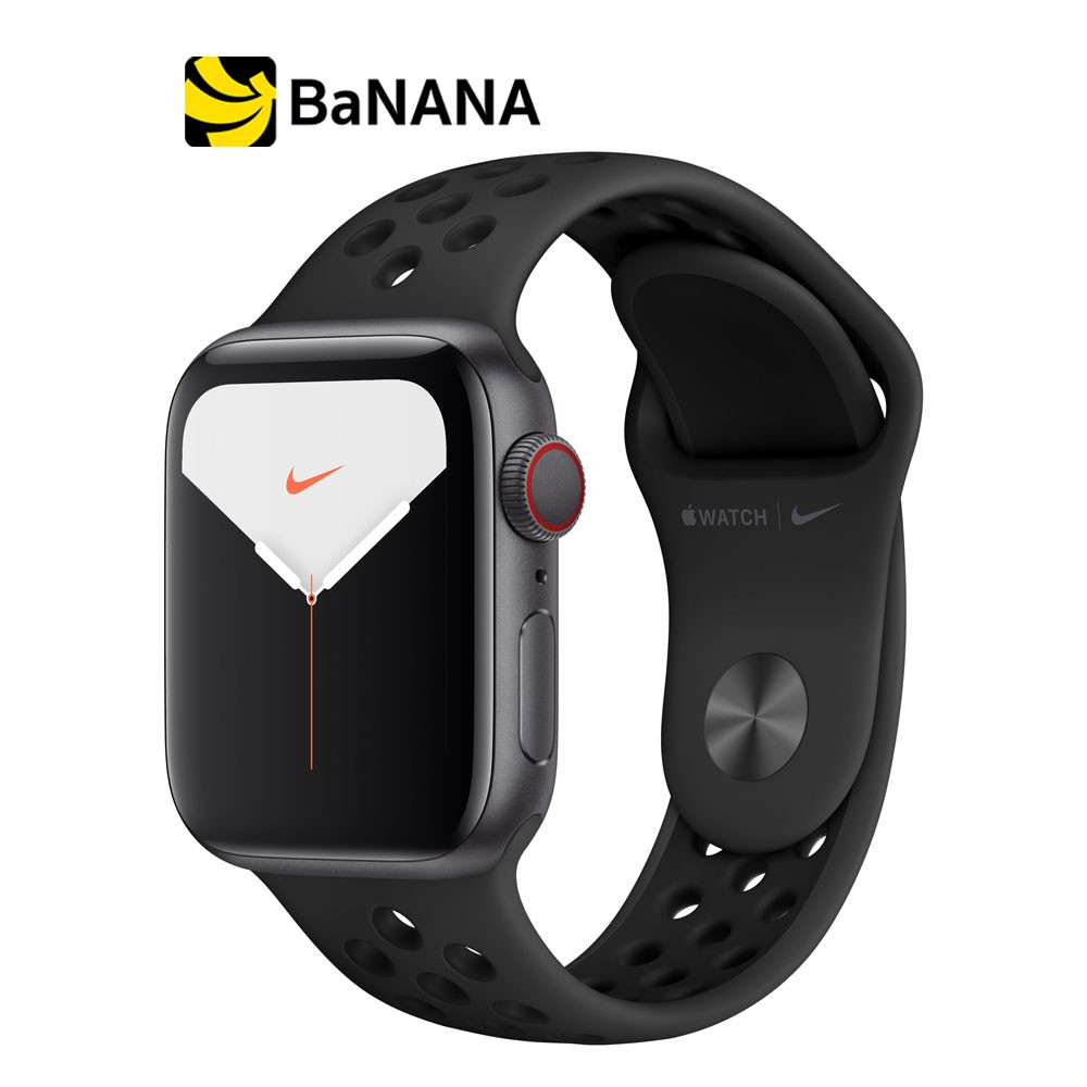Apple Watch Nike Series 5 GPS + Cellular Space Grey Aluminium Case with Anthracite/Black Nike Sport Band