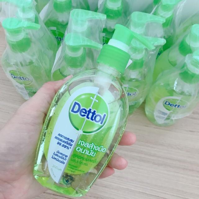 เจลล้างมือ Dettol 200 ml / 1ขวด