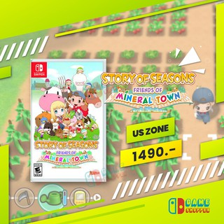 [พร้อมส่ง] Story of Seasons : Friends of Mineral Town (US zone) มือ 1