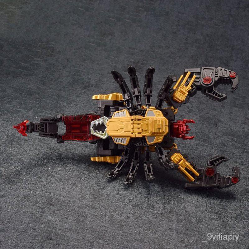 IronFactory EX18D Lord Scorion Dark Matter Ver.Transformation Action Figure Toy 18cm ABS Model Deformation Car Robot Fig