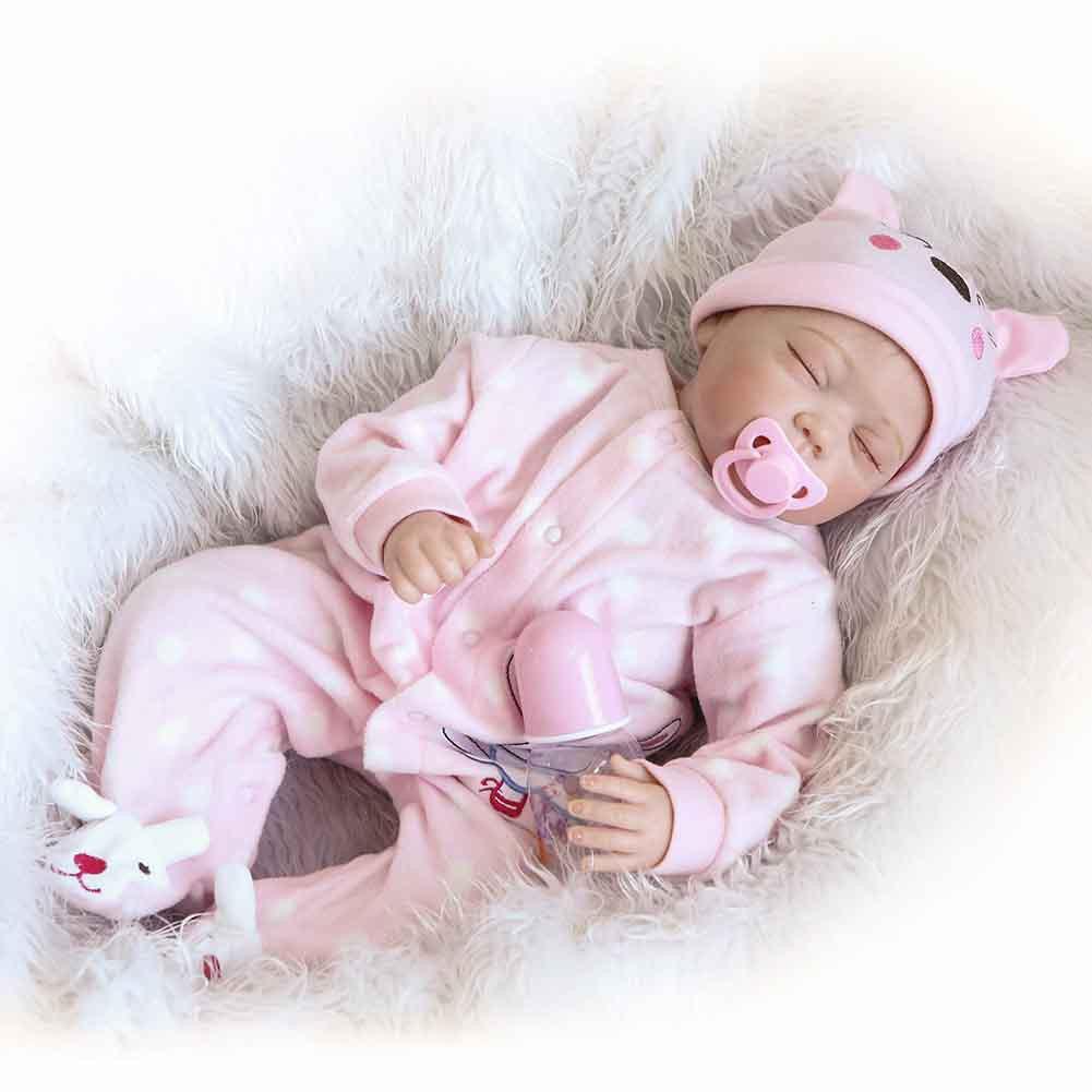 22/'/' Bebe Reborn Newborn Baby Girl Doll Clothes Clothing Set Handmade Toys Gifts