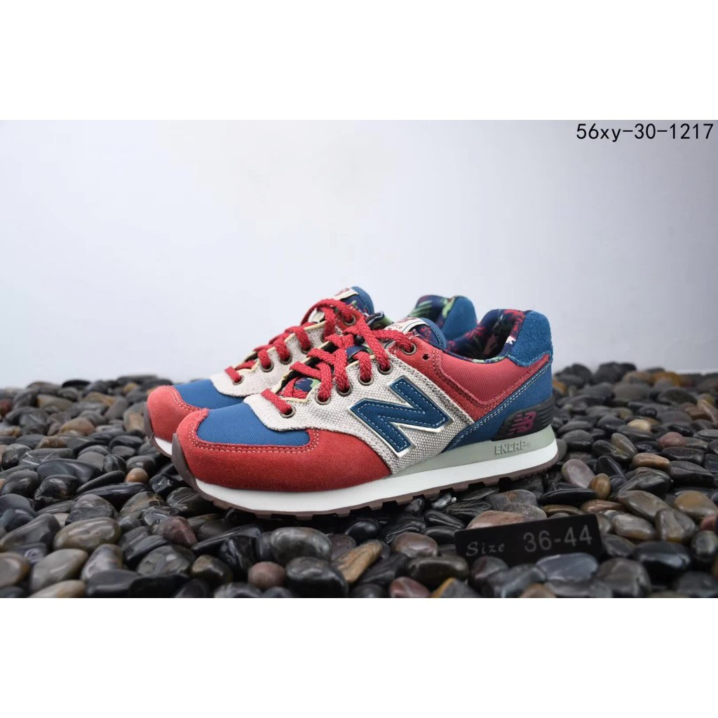 new balance 574 red and blue