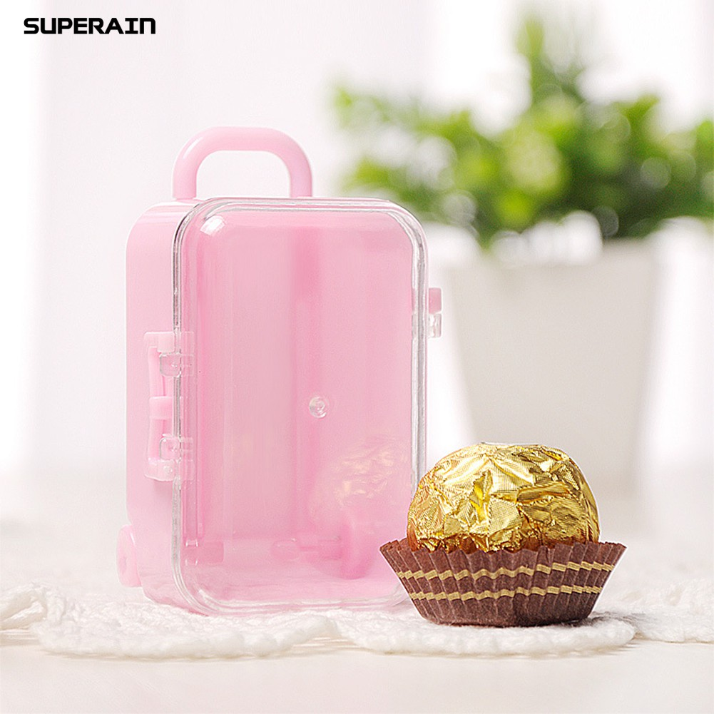 Superain กล่องขนมรูปกระเป๋าเดินทาง