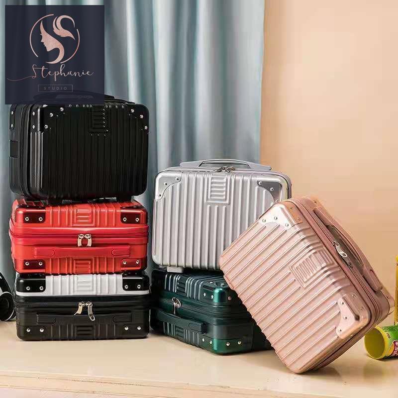 กระเป๋าเดินทาง กระเป๋าเดินทางใบเล็ก กระเป๋าเดินทางใบเล็ก กระเป๋าเดินทางใบเล็ก 14 นิ้ว กระเป๋าเครื่องสำอาง เวอร์ชั่นเกาหล