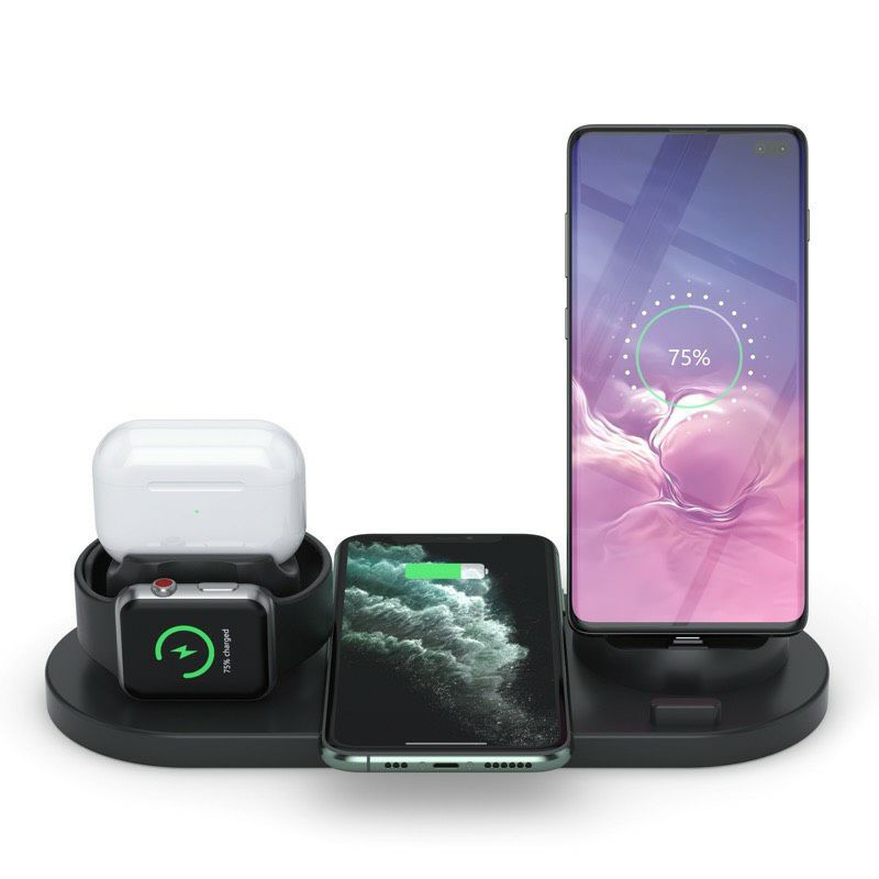 Wireless Charger, 3 in 1 Wireless Charging Dock for Apple Watch and