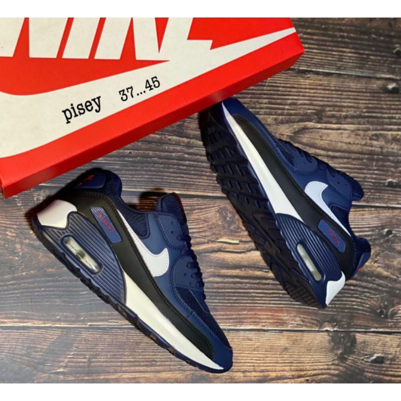 """""""Nike air max 90"""" [Size:37-45] 💥มีเก็บเงินปลายทาง รองเท้าลำลอง รองเท้าผ้าใบ รองเท้าชายหญิง จัดส่งเร็ว🚚"""