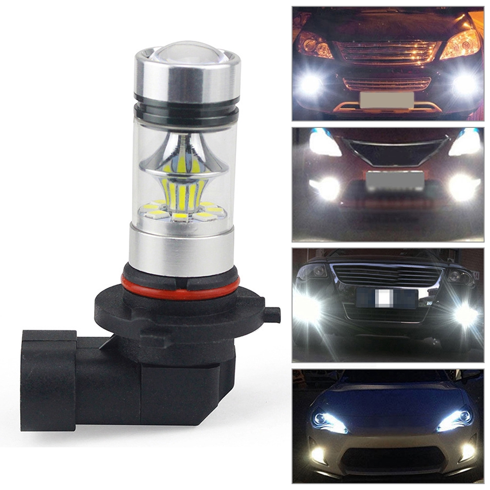 H9 100w Halogen Xenon Headlight Replacement 2x Light Bulb