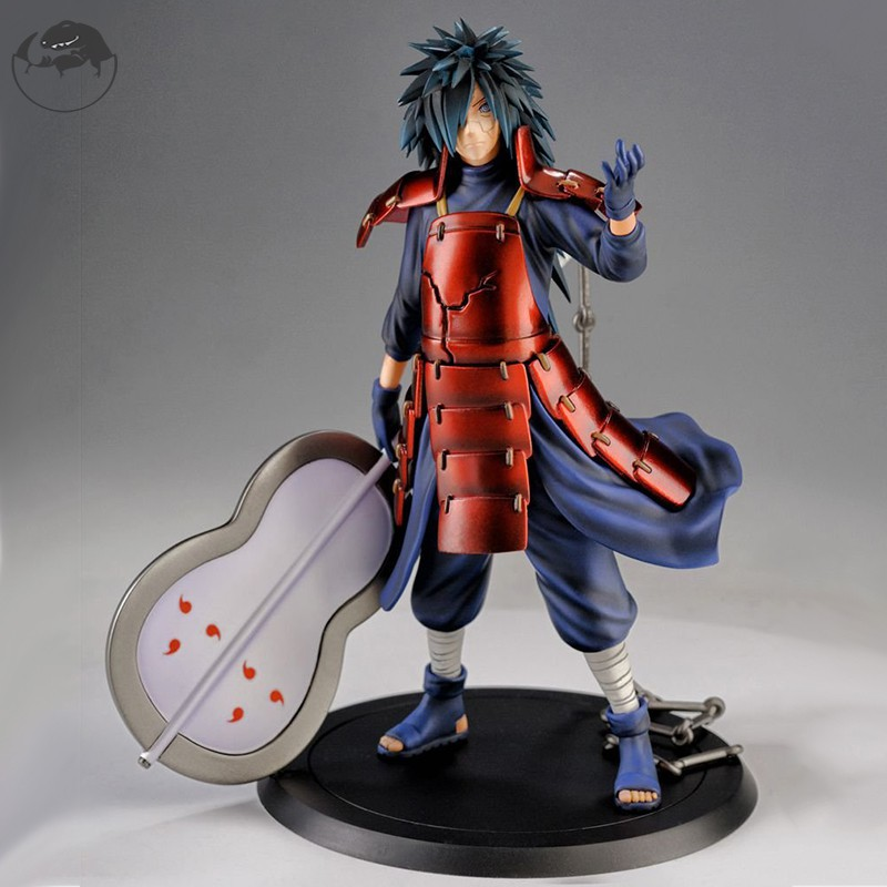 In stock Naruto Uchiha Madara Action Figure PVC Figure Model Toy Gift for Kid Adult 18cm Tall
