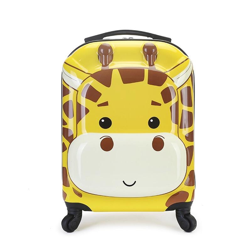 ➳❈กรณีรถเข็น กระเป๋าเดินทางล้อลากใบเล็ก กระเป๋าเดินทางล้อลากใหม่การ์ตูนเด็กรถเข็นกระเป๋าโรงเรียนประถมชายและหญิงล้อสากลสา