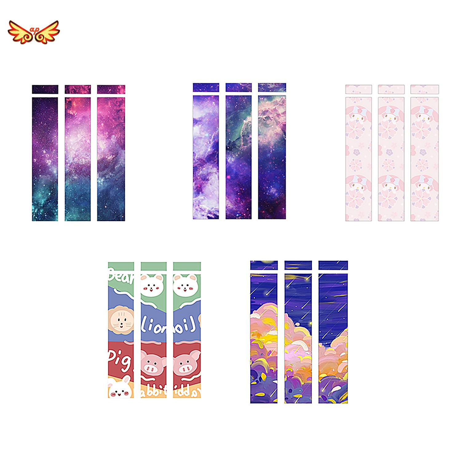 Cute for Apple Pencil Stickers Scratchproof Ultra Thin Stickers Press Stylus Pen Sticker Non Slip Protective Paper