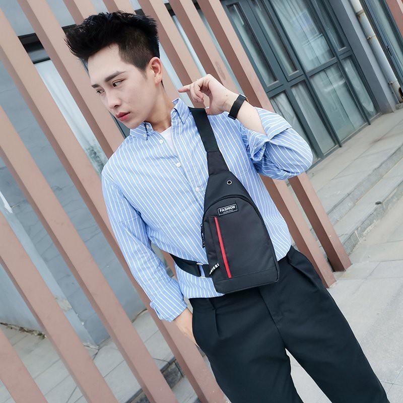 【พร้อมส่ง】?SALE ?miss bag fashion กระเป๋าคาดอก Travel Shoulder Unisex Models รุ่น 888