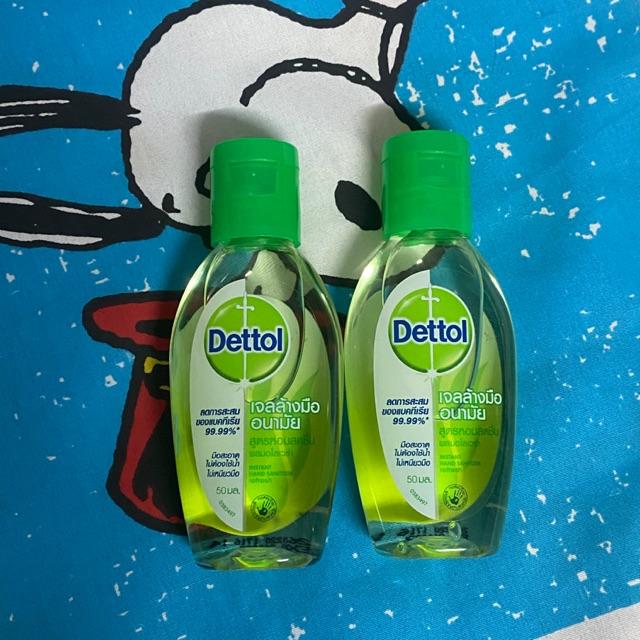 เจลล้างมือ Dettol 50ml.